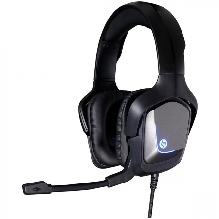 Headset Gamer HP H220GS Surround 7.1 Driver 40mm USB LED