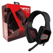 Headset Gamer Patriot Viper V330, Estéreo, 3.5mm, Conector P2/P3 - Preto