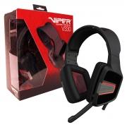 Headset Gamer Patriot Viper V330, Estéreo, 3.5mm, Conector P2/P3 - Preto