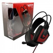 Headset Gamer Patriot Viper V360, USB, 7.1 Virtual Surround Sound, Ultra Bass -  LED Vermelho