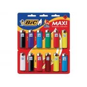 Isqueiro Bic J6 Maxi, Contém 12 Unidades, Bic - 902585
