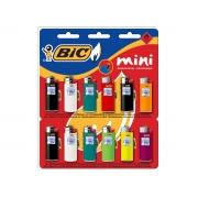 Isqueiro Bic J6 Mini, Contém 12 Unidades, Bic - 902586