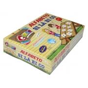 Jogo Alfabeto Silábico, Contém 150 Peças Em M.D.F., Carlu - 3018