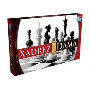 Jogo de Xadrez & Dama Pais e Filhos - 2811