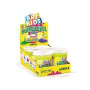 Kimeleka Slime 180g, Caixa C/ 6 Unidades, Acrilex - Amarelo Limão