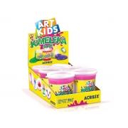 Kimeleka Slime 180g, Caixa C/ 6 Unidades, Acrilex - Rosa