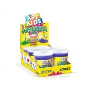 Kimeleka Slime 180g, Caixa C/ 6 Unidades, Acrilex - Violeta