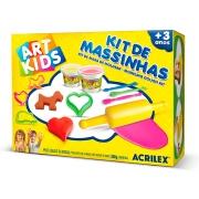 Kit de Massinhas 3, 300g - Acrilex