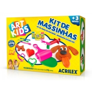 Kit de Massinhas 4, 450g - Acrilex