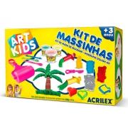 Kit de Massinhas 5, 400g - Acrilex