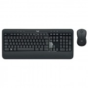 Kit Teclado e Mouse Logitech MK540, Advanced Wireless, ABNT2, USB, Preto