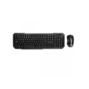 Kit Teclado e Mouse Wireless C3Tech K-W40BK, ABNT2, 1600 DPI