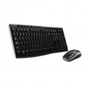 Kit Teclado + Mouse Logitech Wireless MK270 PTO