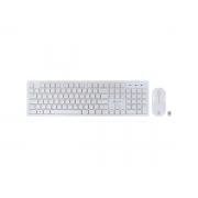 Kit Teclado+Mouse Wireless Vinik CMW 120 Branco 27651