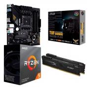 Kit Upgrade Gamer Performance, Asus TUF Gaming B550M-PLUS, Ryzen 5 3600, HyperX 16GB DDR4 2666MHz