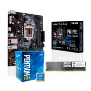 Kit Upgrade Home Office, Asus Prime H310M-E R2.0/BR, Pentium Gold G5420 3.8GHz, 8GB DDR4 2666MHz
