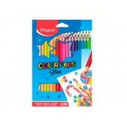 Lápis de Cor Color Peps 36 Cores - Maped - 832017