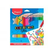 Lápis de Cor Color Peps 48 Cores - Maped - 832048