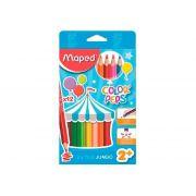 Lápis de Cor Color Peps Jumbo 12 Cores - Maped - 834010