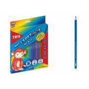 Lapis de Cor Mega Soft Color 24 cores e 1 Apontador Tris - 680224