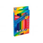 Lápis de Cor Mega Soft Color 36 Cores, Caixa c/ 36 Cores - Tris - 680255
