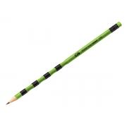 Lápis Preto HB Wave Grip Neon Com Borracha, Pote Com 50 Unidades, Cis - 522500