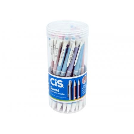 Lapiseira 0.7mm Sweet Cores Sortidas, Pote c/ 24 Unidades - Cis - 538300
