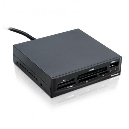 Leitor de Cartão INTERNO 30 em 1 USB 2.0 AC069 Multilaser