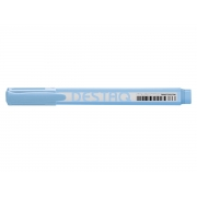 Marca Texto Destaq Azul Pastel, Cx. C/12 Unidades - Compactor - 1753082