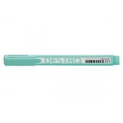 Marca Texto Destaq Verde Pastel, Cx. C/12 Unidades - Compactor - 1753083