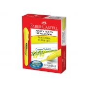 Marca Texto Gel Amarelo, Caixa C/ 6 Unidades - Faber Castell - 155707