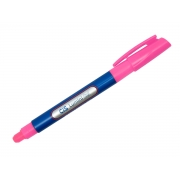 Marca Texto Lumini Gel, Caixa Com 12 Unidades, Cis - Rosa - 550600