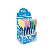 Marca Texto Lumini Gel Tons Pasteis, Display C/ 24 Unidades - Cis - 574300