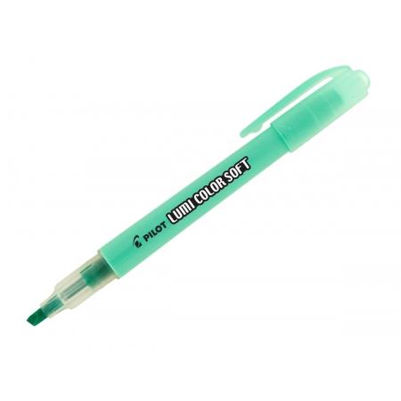 Marcador de Texto Lumi Color Pastel Verde Caixa Com 12 Unidades Pilot - 1440003VD