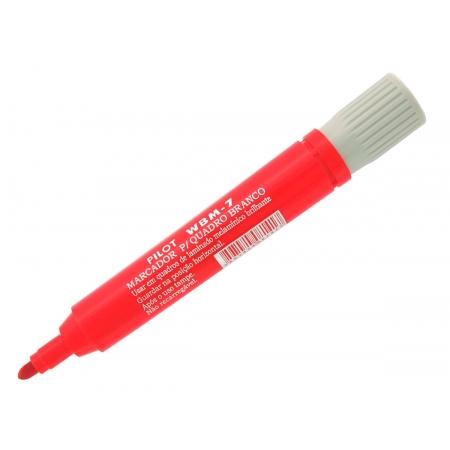 Marcador para Quadro Branco WBM-7 Vermelho Caixa Com 12 Unidades Pilot - 1450001VM