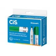 Marcador para Quadro Branco Whiteboard Marker, Caixa Com 12 Unidades, Cis - Verde - 468500