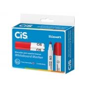 Marcador para Quadro Branco Whiteboard Marker, Caixa Com 12 Unidades, Cis - Vermelho - 468400