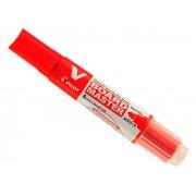 Marcador Recarregável Para Quadro Branco Vermelho Caixa Com 12 Unidades Pilot - 2450005VM
