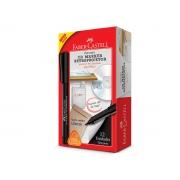 Marcador Retroprojetor 1.0 Media, Caixa C/ 12 Unidades, Faber Castell - Preto -  CDRETRO/PRZF