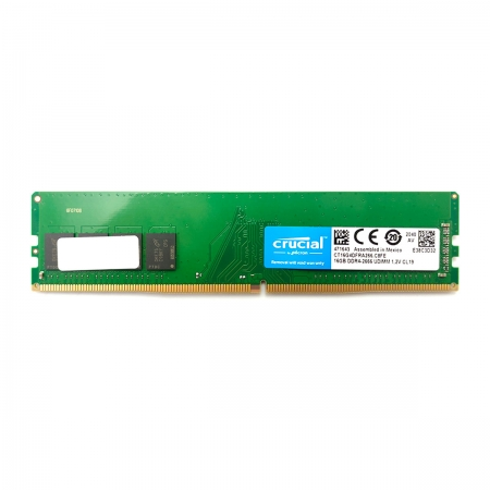 Memória 16GB Crucial, DDR4, 2666MHz, CL19 - CT16G4DFRA266