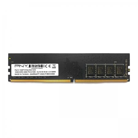 Memória 16GB PNY, 2666MHz, DDR4, CL19 - MD16GSD42666BL