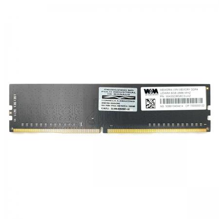 Memória 8GB Win Memory, Micron, DDR4, 2666MHz, CL19 - WA5SD8G8C3UAZ