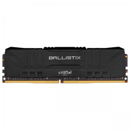 Memória Crucial Ballistix 8GB, 2666MHz, DDR4, CL16 - BL8G26C16U4B