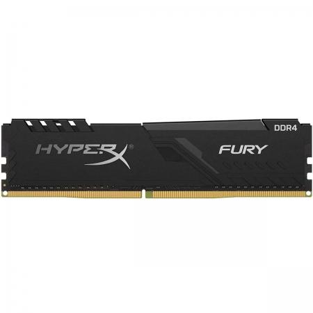 Memória Gamer Kingston HyperX Fury Black, 16GB, 2666MHz, DDR4, CL16 - HX426C16FB3/16