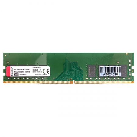 Memória Kingston 8GB, DDR4, 2666MHz, CL19 - KVR26N19S8/8