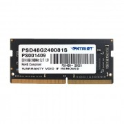 Memória para Notebook 8GB Patriot Signature Line DDR4 2400MHz CL17 -  PSD34G1600L2S