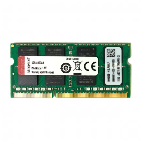 Memória para Notebook Kingston 8GB, DDR3, 1333MHz, CL9 - KCP313SD8/8