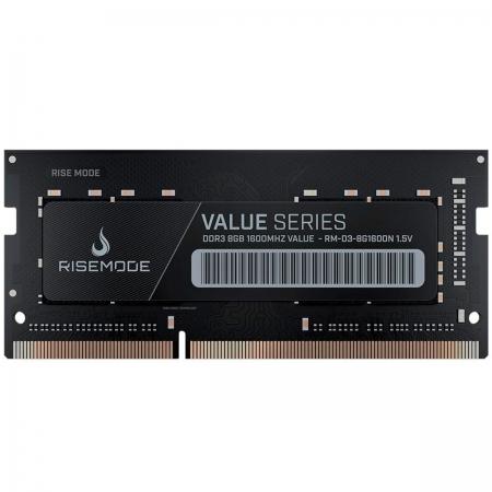 Memória para Notebook Rise Mode RM-D3-8G1600N, 8GB, DDR3, 1600MHz
