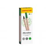 Microline 0.4 mm Verde, Caixa C/ 12 Unidades, Compactor