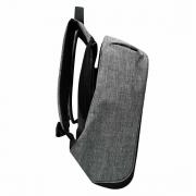 Mochila Executiva Yins's, Antifurto, Porta USB Integrada, Cinza - YS28056